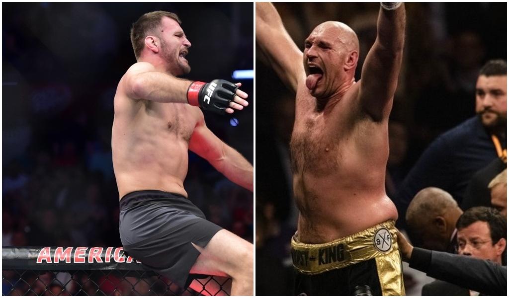 Stipe Miočić i Tyson Fury