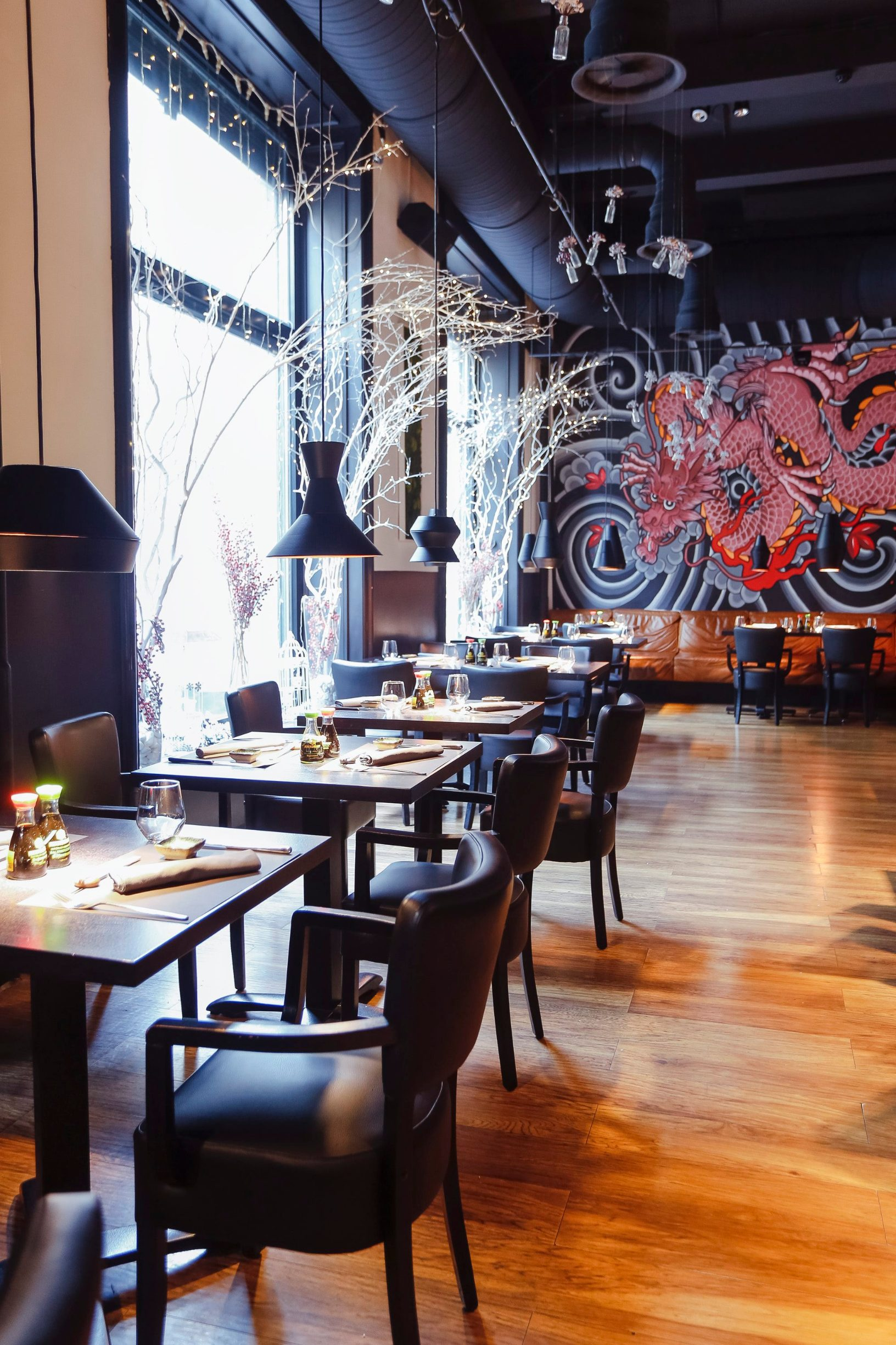 Zagreb, 250119. Petrinjska ulica. Interijer restorana Time Restaurant and Bar. Foto: Marko Todorov / CROPIX