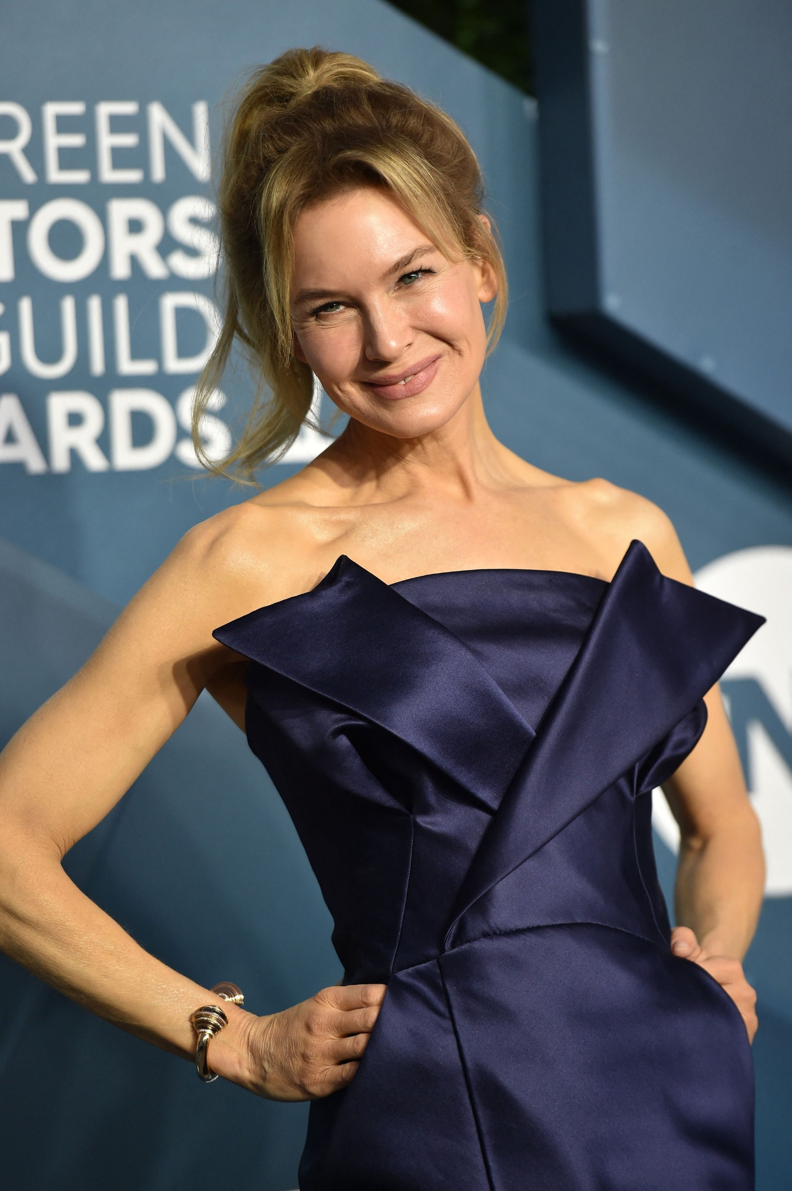 Renee Zellweger attends the 26th Annual Screen Actors Guild Awards at The Shrine Auditorium on January 19, 2020 in Los Angeles, CA, USA., Image: 493725770, License: Rights-managed, Restrictions: , Model Release: no, Credit line: Hahn Lionel/ABACA / Abaca Press / Profimedia