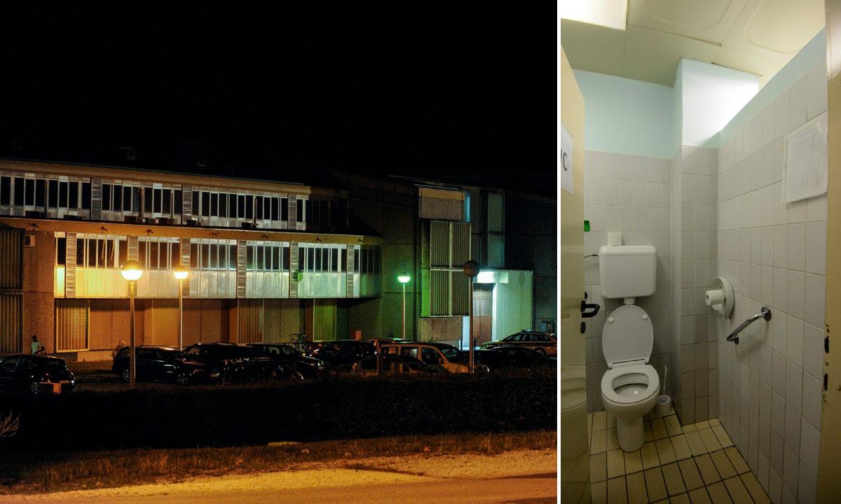 zatvor u Remetincu (lijevo), WC u KBC-u Sestre milosrdnice kroz koji je pobjegao Ivan Đorđević (desno)
