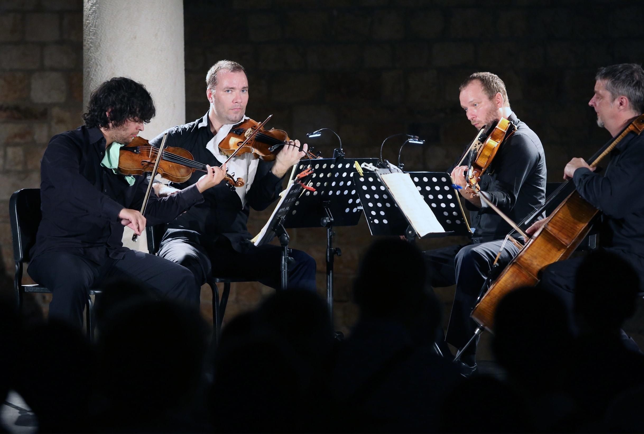 Zagrebački kvartet, arhivska fotografija
