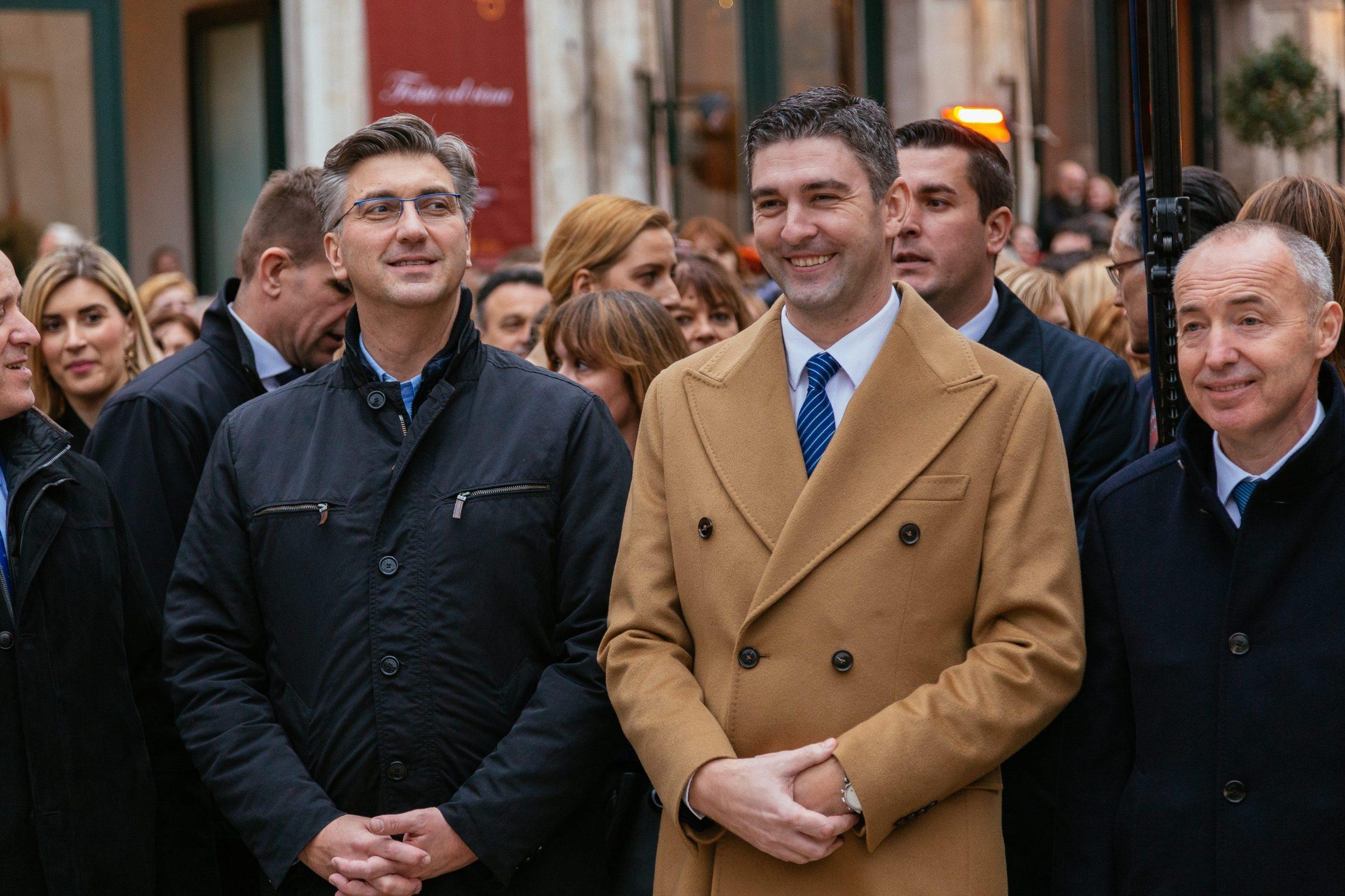 Andrej Plenković i Mato Franković
