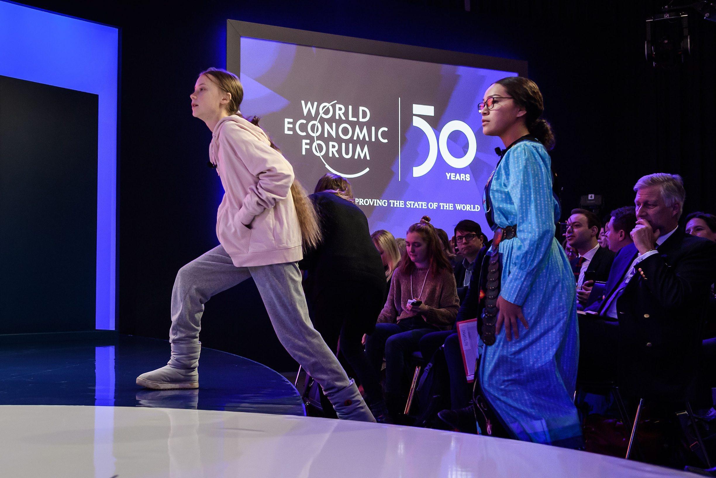 Greta Thunberg i Autumn Peltier