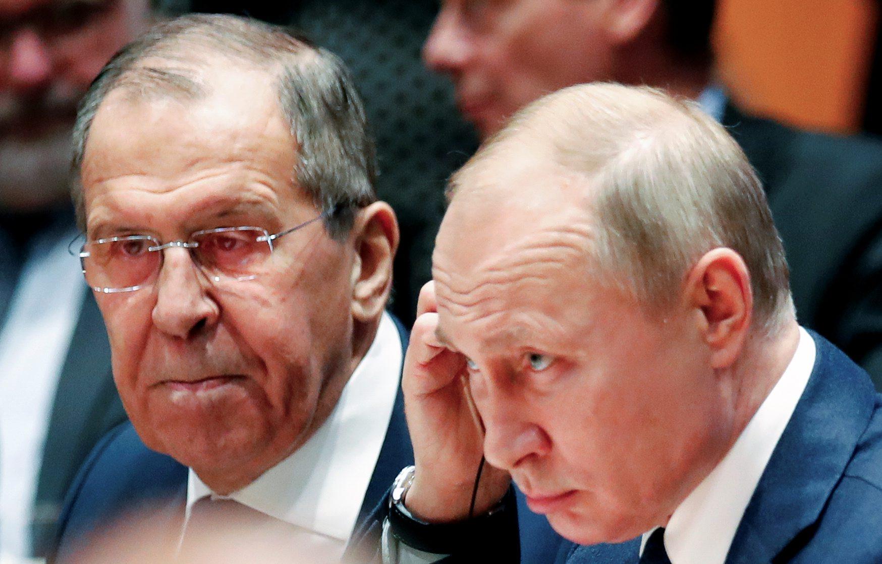 Sergej Lavrov i Vladimir Putin