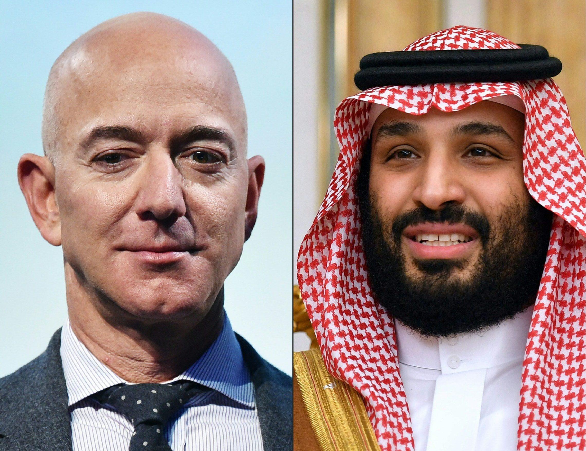 Jeff Bezos i Muhamed bin Salman