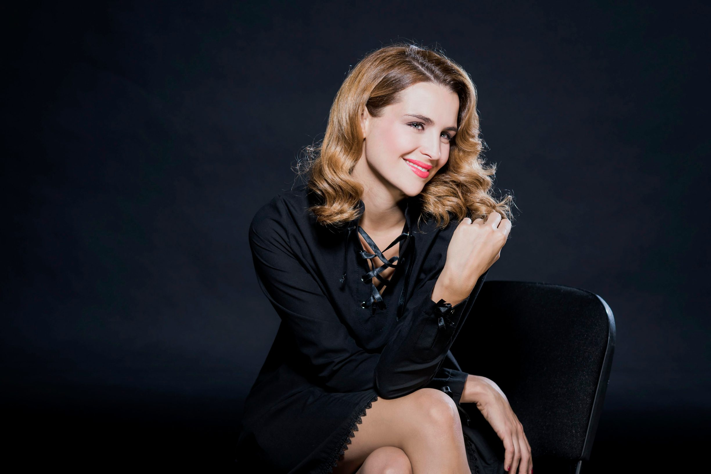 Zagreb, 211116.  Voditeljica i glumica Doris Pincic Rogoznica. Foto: Neja Markicevic / CROPIX