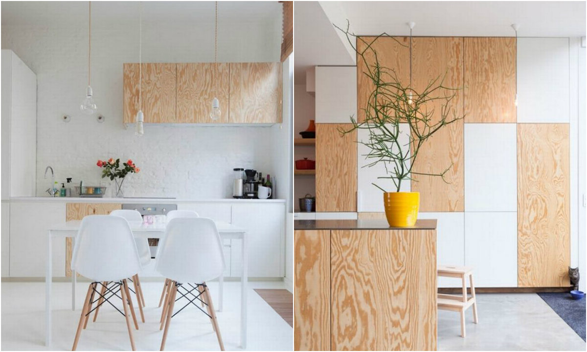 drvene kuhinje collage