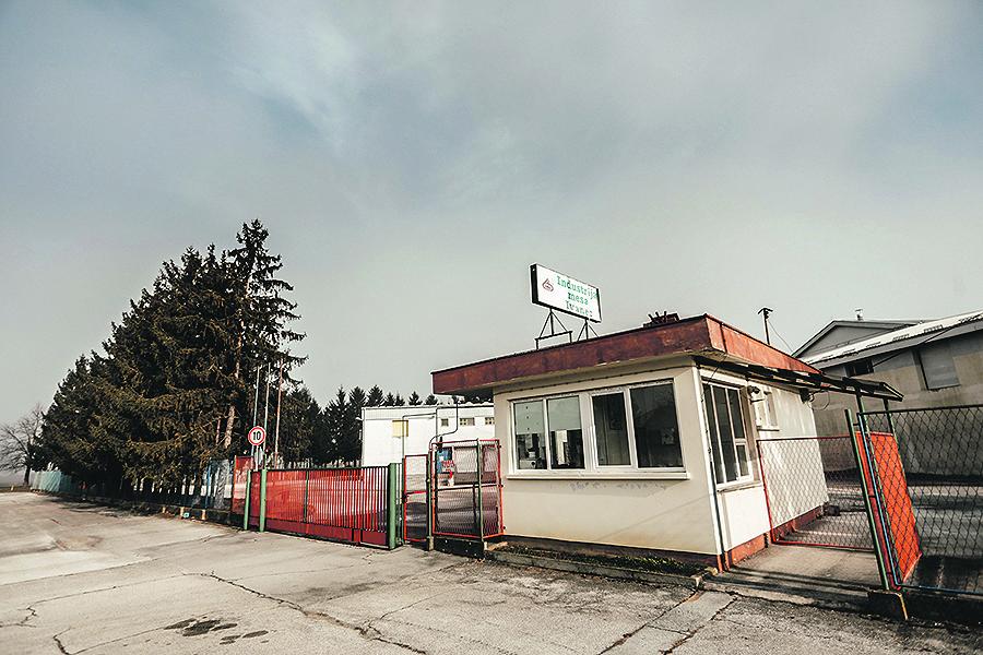 Ivanec, 170120 Reportaza Grada Ivanca u sklopu seriala I to je Hrvatska.  Na fotografiji bivsa Tvornica mesa u Ivancu. Foto: Danijel Soldo / CROPIX
