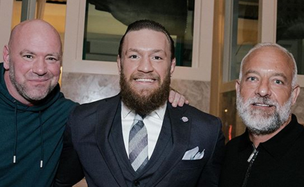 White, McGregor i Fertitta