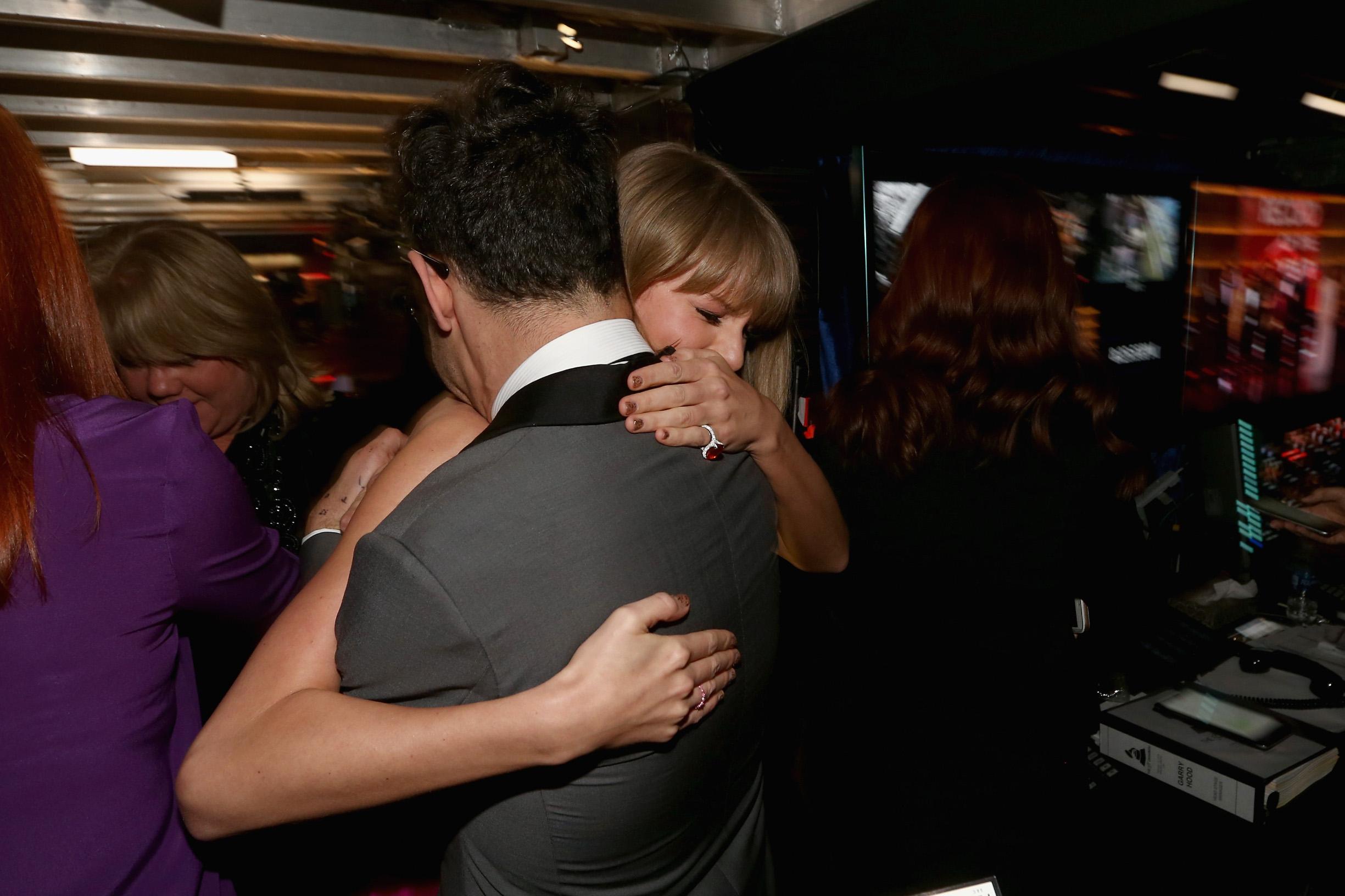 Taylor Swift i Jack Antonoff na dodjeli Grammyja 2016. godine