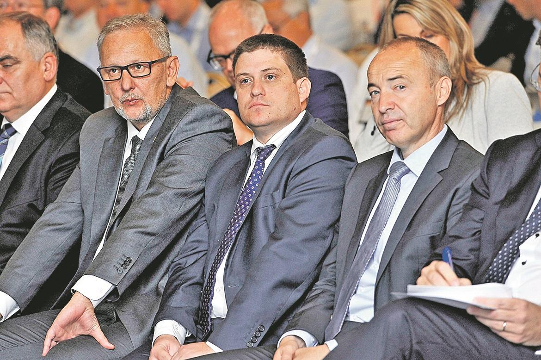 Davor Božinović, Oleg Butković i Damir Krstičević