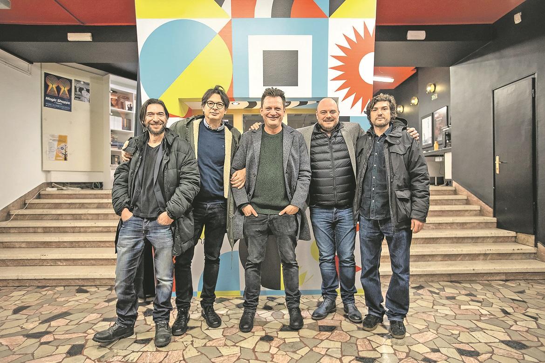 Mislav Brumec, Nebojša Taraba, Dalibor Matanić, Miodrag Sila i Danko Vučinović