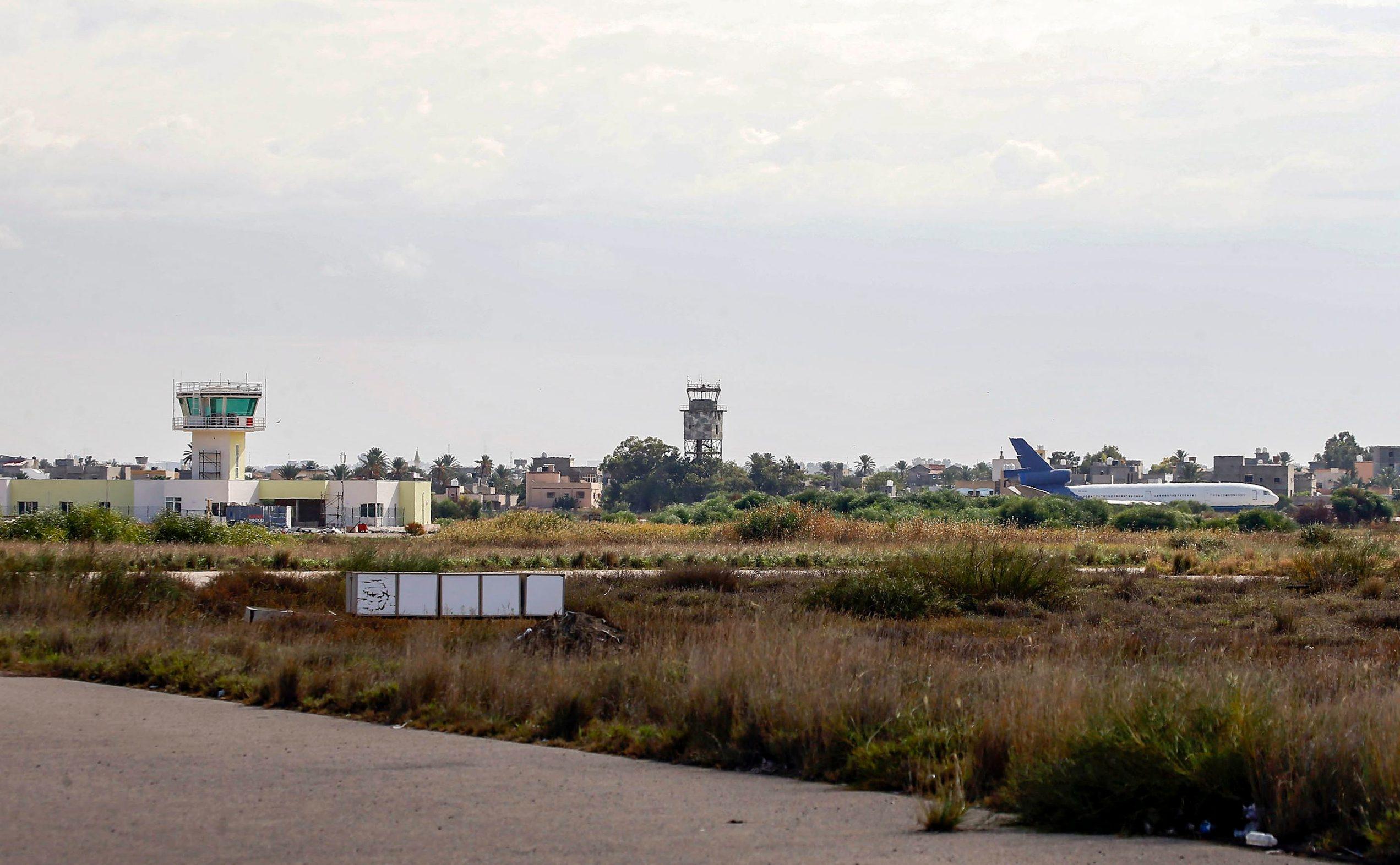 Međunarodni aerodrom u Tripoliju, arhivska fotografija
