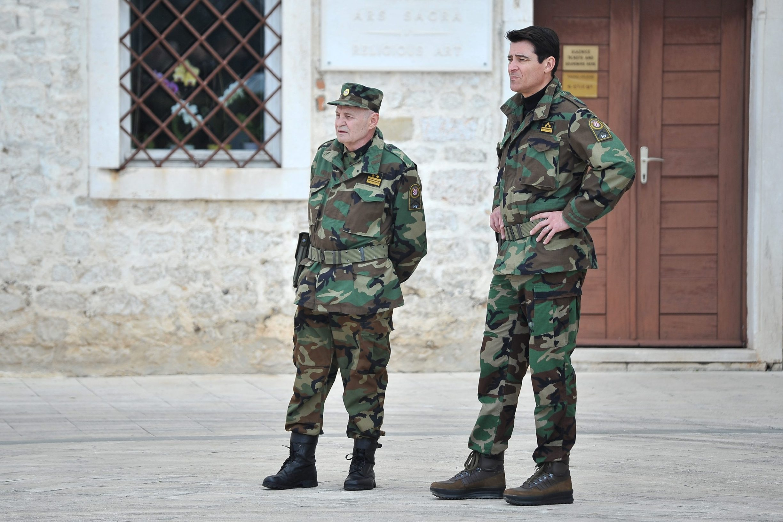 Goran Višnjić i Mustafa Nadarević