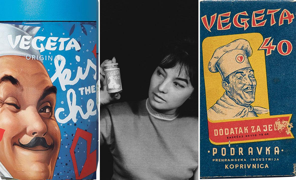 Djevojka sa staklenom bočicom koju je snimio Ivan Šef, službeni fotograf, 1961. godine (u sredini)