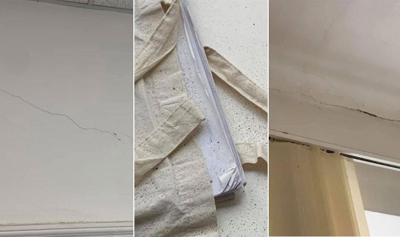 Šteta nastala nakon potresa u prostorijama načelnika općine Marija Bistrica