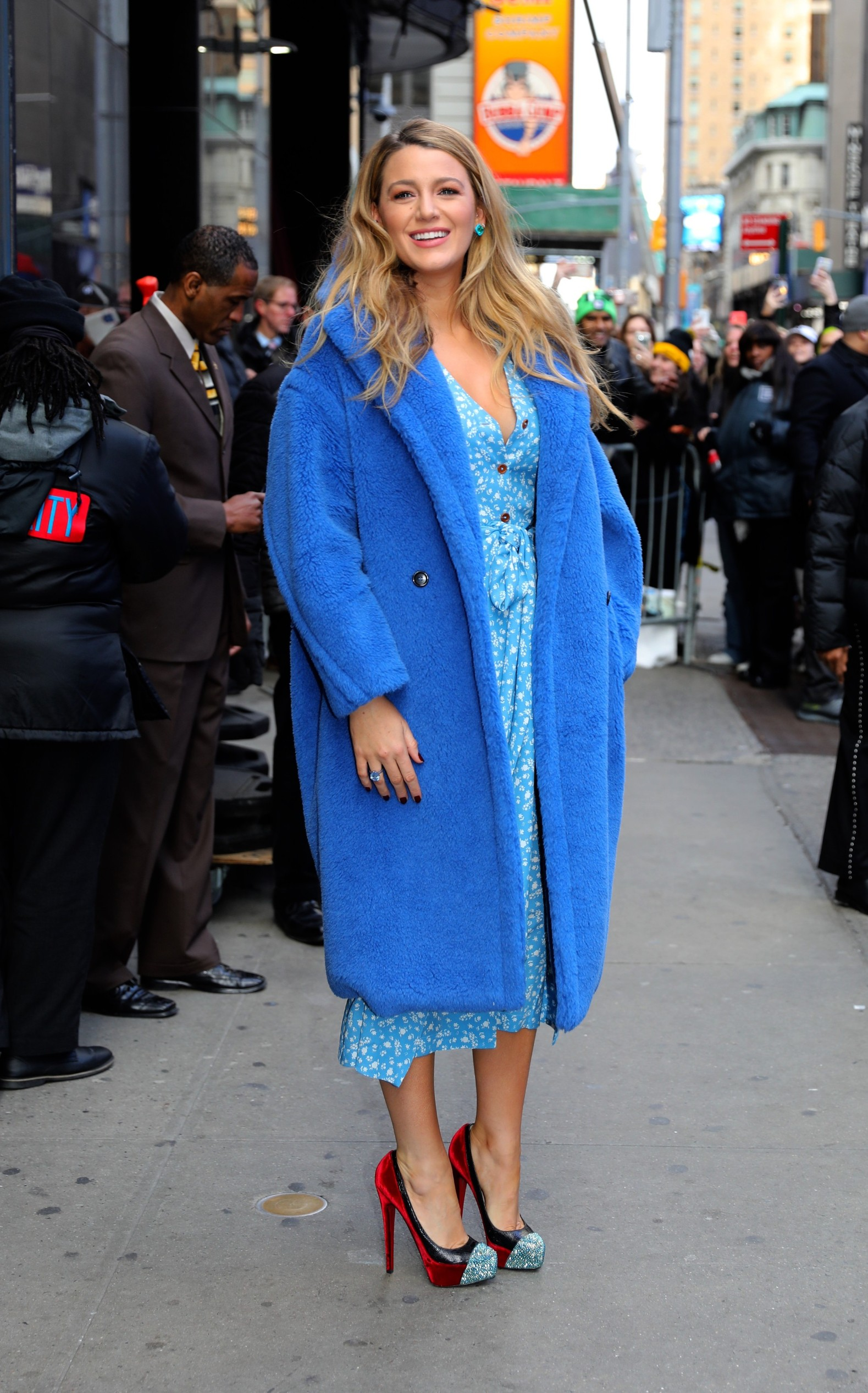 Blake Lively looks stunning in 3 different outfit changes as she promotes her new movie 'The Rhythm Section' in Uptown, Manhattan. New York City, New York - Tuesday January 28, 2020., Image: 495325052, License: Rights-managed, Restrictions: N, Model Release: no, Credit line: JP/PacificCoastNews / Pacific coast news / Profimedia