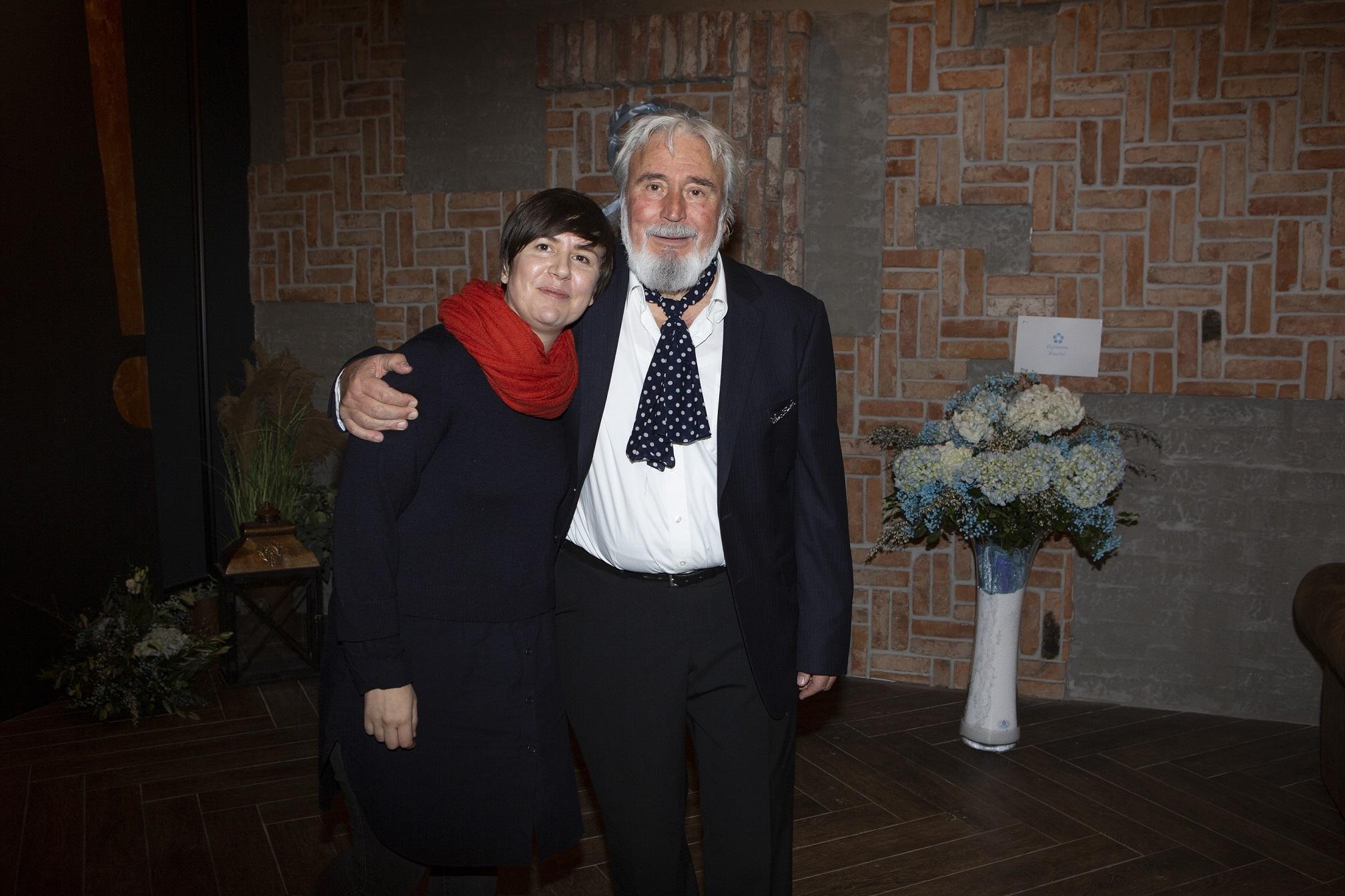 Svi za njega donatorska vecera  Vinar Andro Tomic i kcer Janica Tomic  Loft restoran, Westgate. Fotograf Matej Dokic 280120