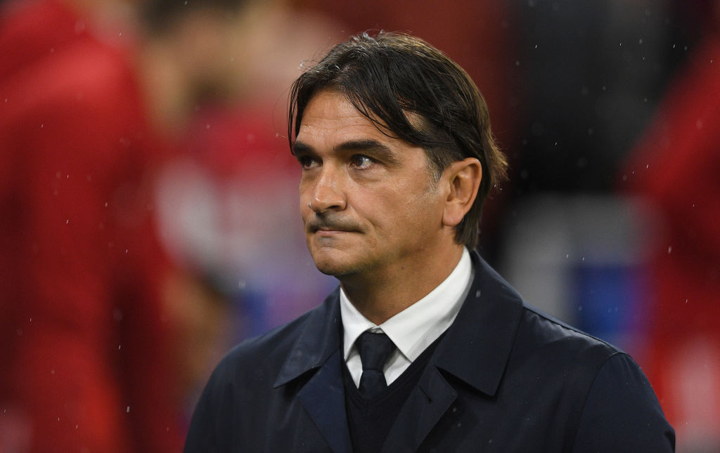 CARDIFF, WALES - OCTOBER 13: Croatia manager Zlatko Dalić ahead of the UEFA Euro 2020 qualifier between Wales and Croatia at Cardiff City Stadium on October 13, 2019 in Cardiff, Wales. (Photo by Harry Trump/Getty Images)