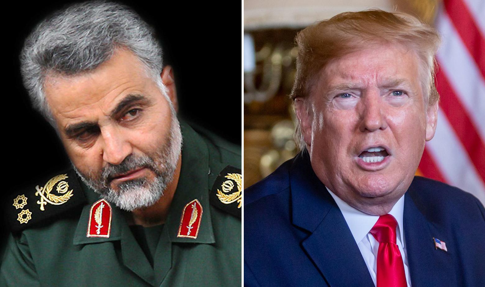 Qassem Suleimani i Donald Trump