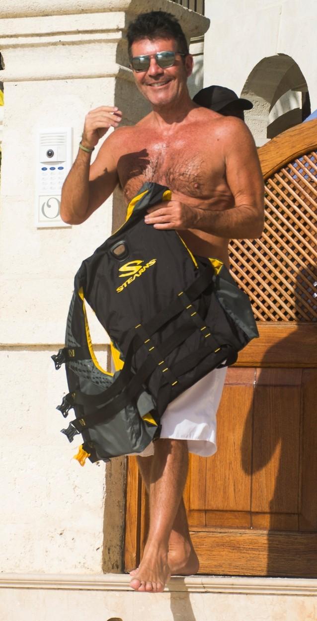 Simon na odmoru na Barbadosu prošle godine.