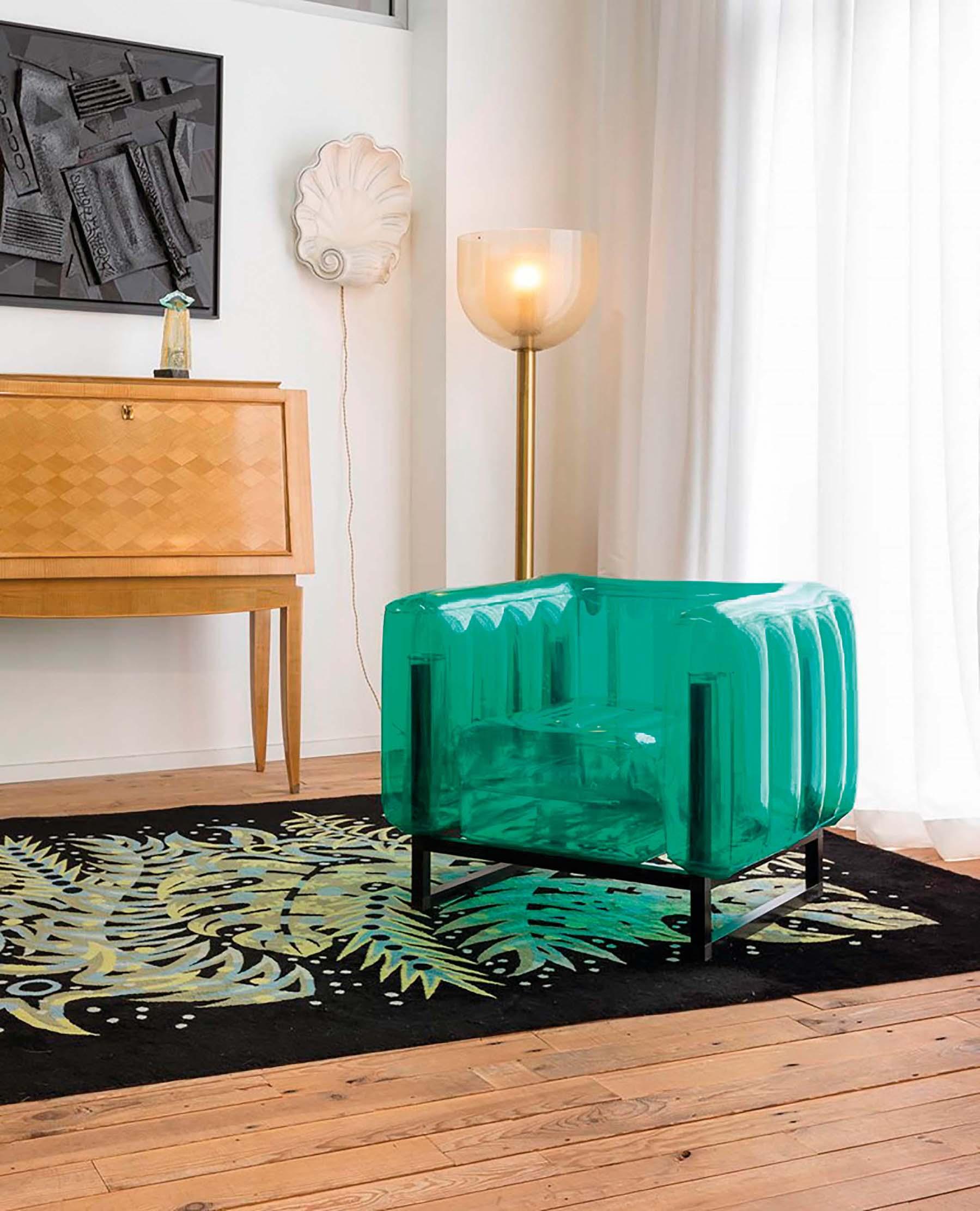 MOJOW Plastična fotelja Yomi na napuhavanje