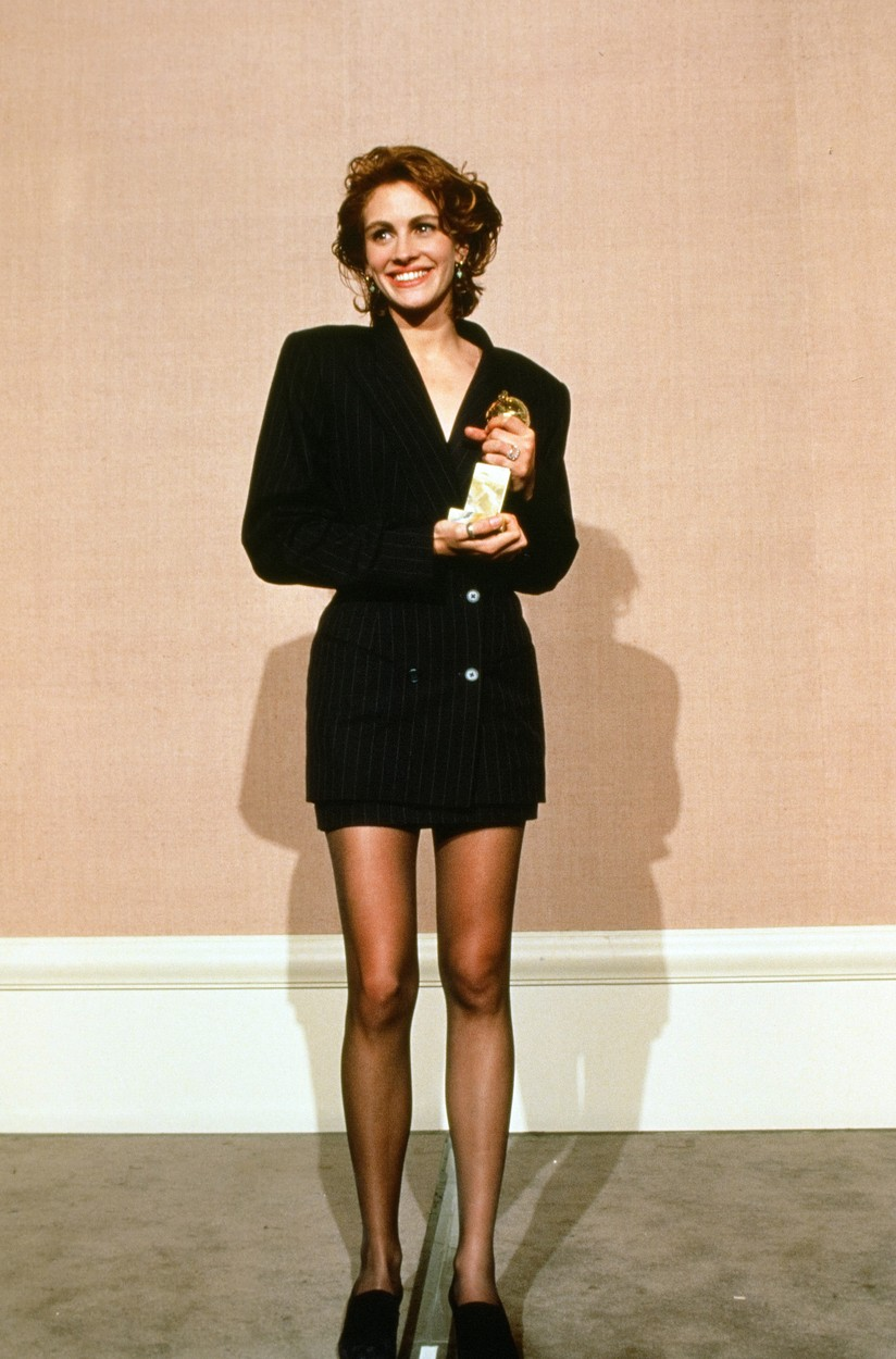 Julia Roberts at the 48th Annual Golden Globe Awards, 1991 © JRC /The Hollywood Archive - All Rights Reserved, Image: 223942273, License: Rights-managed, Restrictions: For Editorial Use Only -, Model Release: no, Credit line: The Hollywood Archive / Hollywood Archive / Profimedia