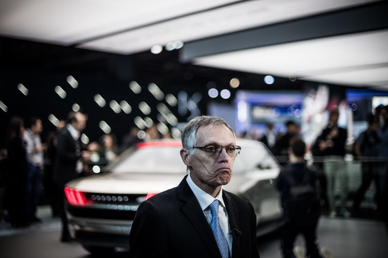 Carlos Antunes TAVARES (President Directeur General CEO de PSA Peugeot Citroen).  L'edition 2018 du Mondial Paris Motor Show est un salon international de l'automobile et de la moto, qui se tient du 4 au 14 octobre 2018 au Parc des expositions de la porte de Versailles, a Paris en France, avec pour theme