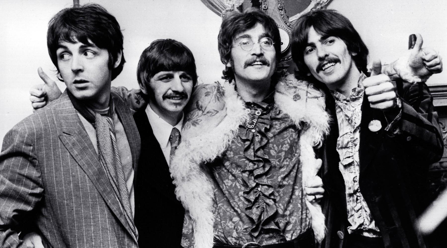 The Beatles, snimljeni 1967. godine u studiju Abbey Road