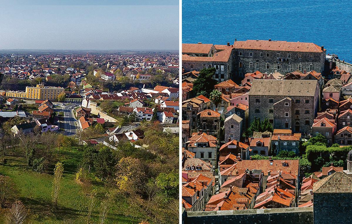Ilustracija, Vukovar i Dubrovnik