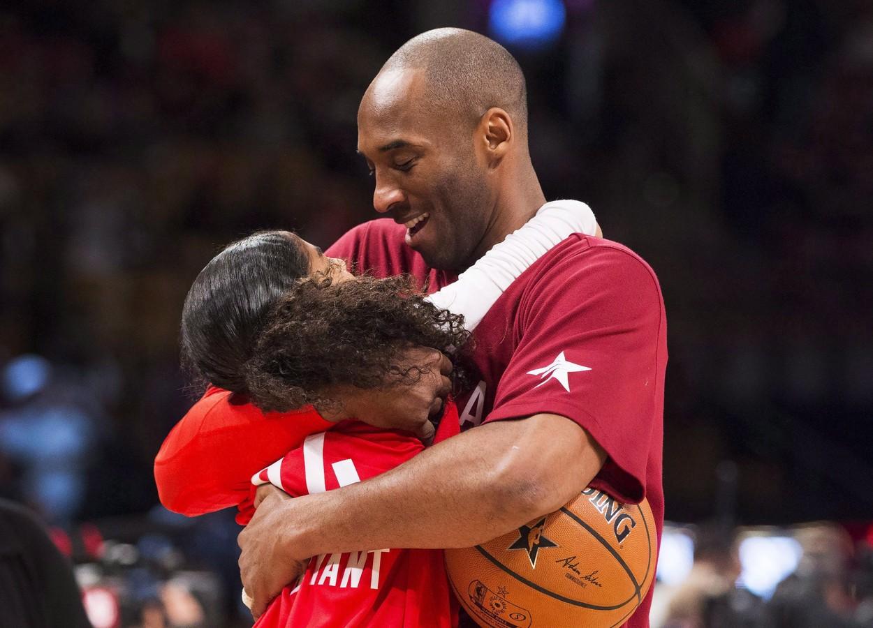 Kobe s kćeri Giannom