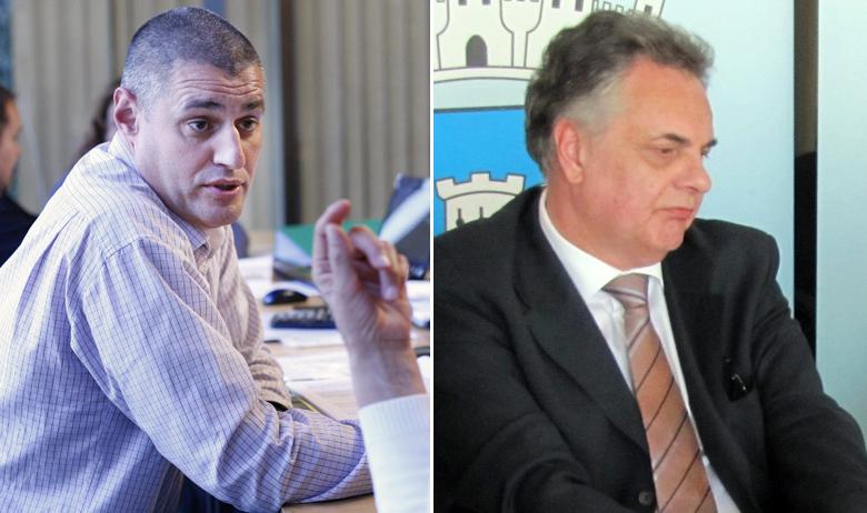 Krešimir Žunić (lijevo); Dragan Hristov (desno)