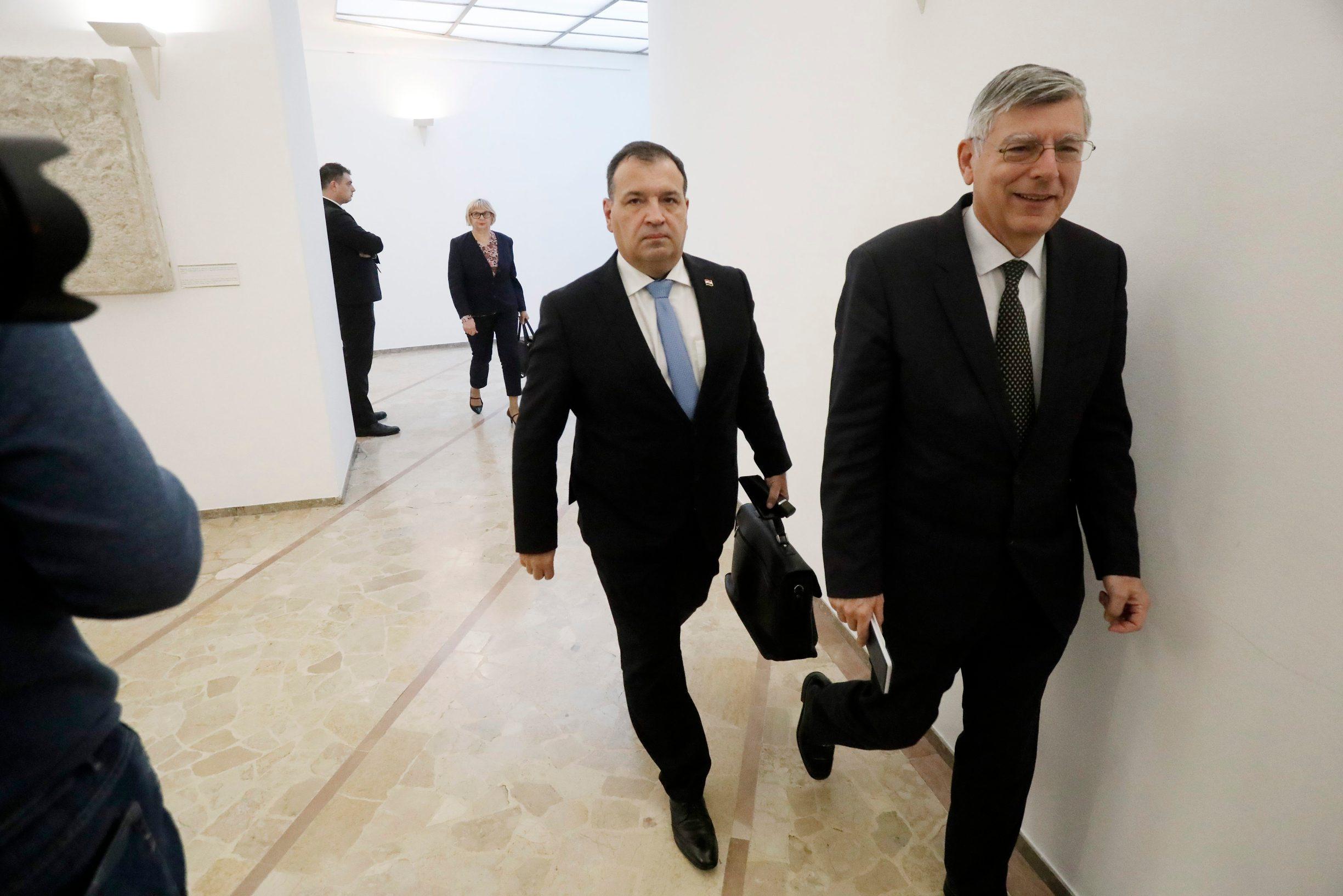 Vili Beroš i Željko Reiner