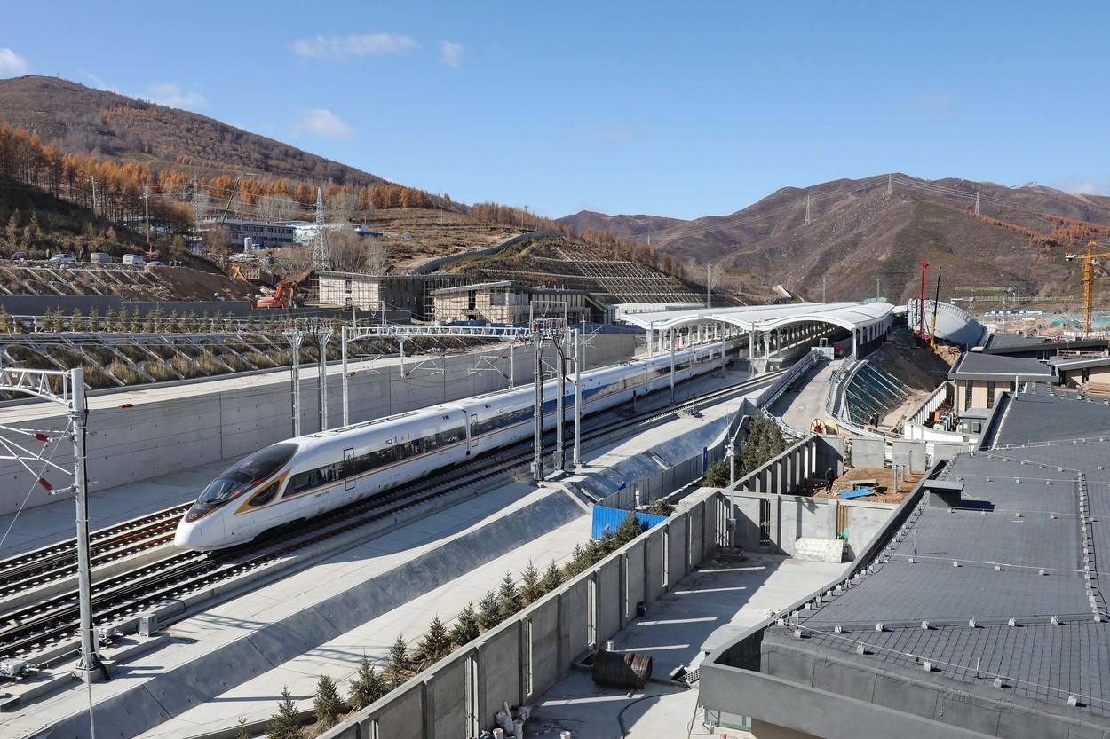 Prvi pametni vlak na svijetu povezuje Peking i Zhangjiakou