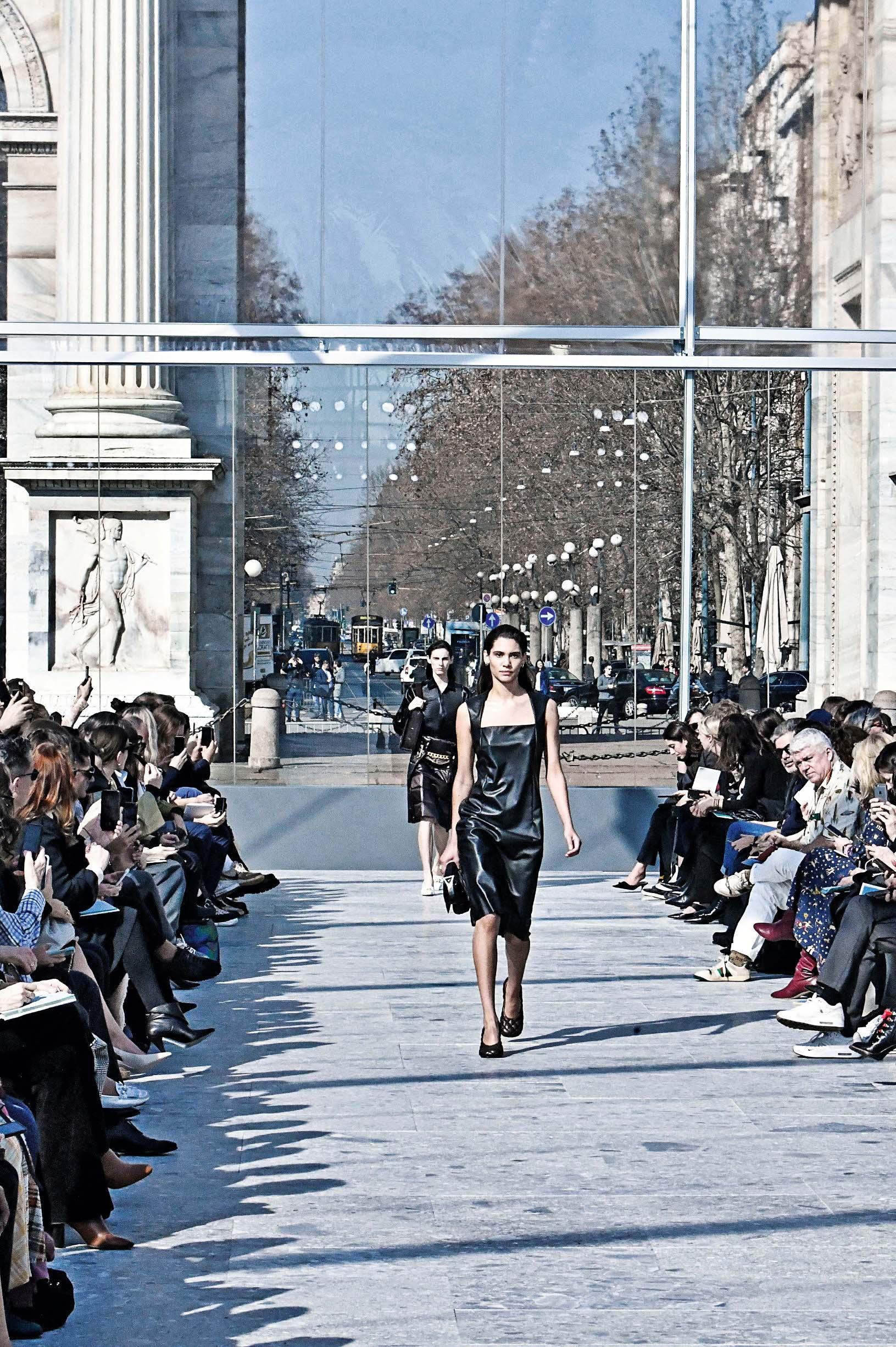 Bottega Veneta Milan Fashion Week RTW FW19/20 - Milan - February 22, 2019., Image: 415524648, License: Rights-managed, Restrictions: *** World Rights ***, Model Release: no, Credit line: Jonas Gustavsson / ddp USA / Profimedia