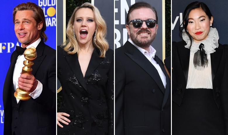 Brad Pitt, Kate McKinnon, Ricky Gervais, Awkwafina