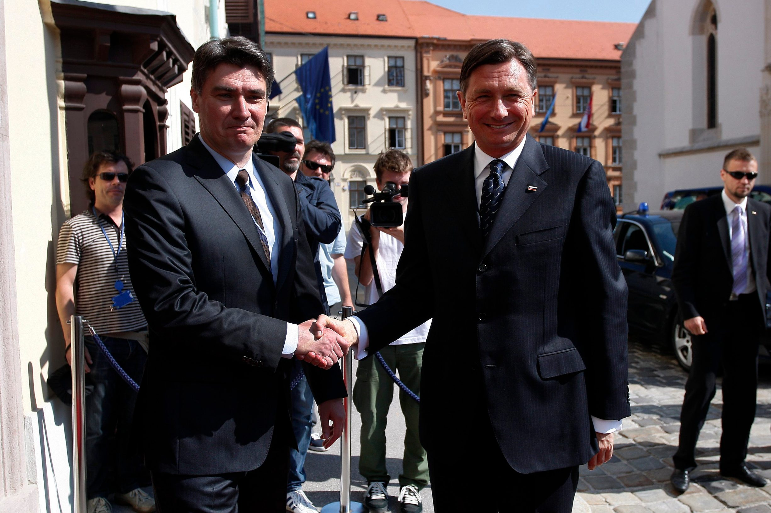 Milanović i Pahor prije 7 godina