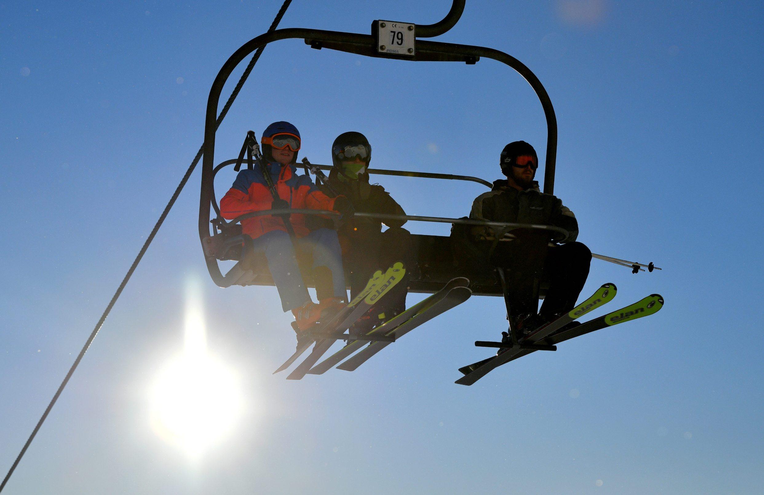 Bovec, 020120. Ski patrola. Skijaliste Kanin. Foto: Srdjan Vrancic / CROPIX