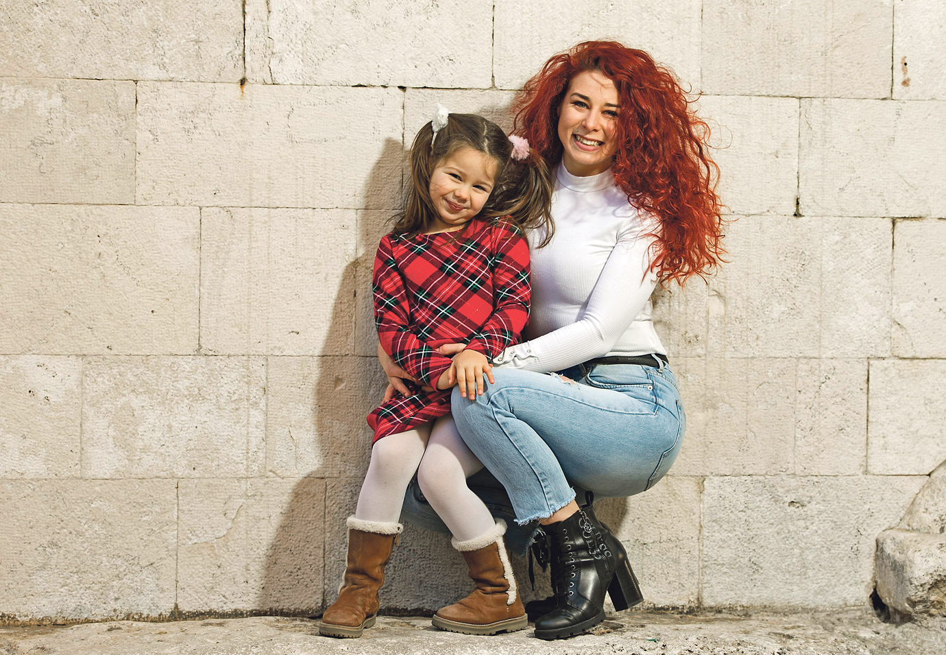 Petra s kćeri Karmen