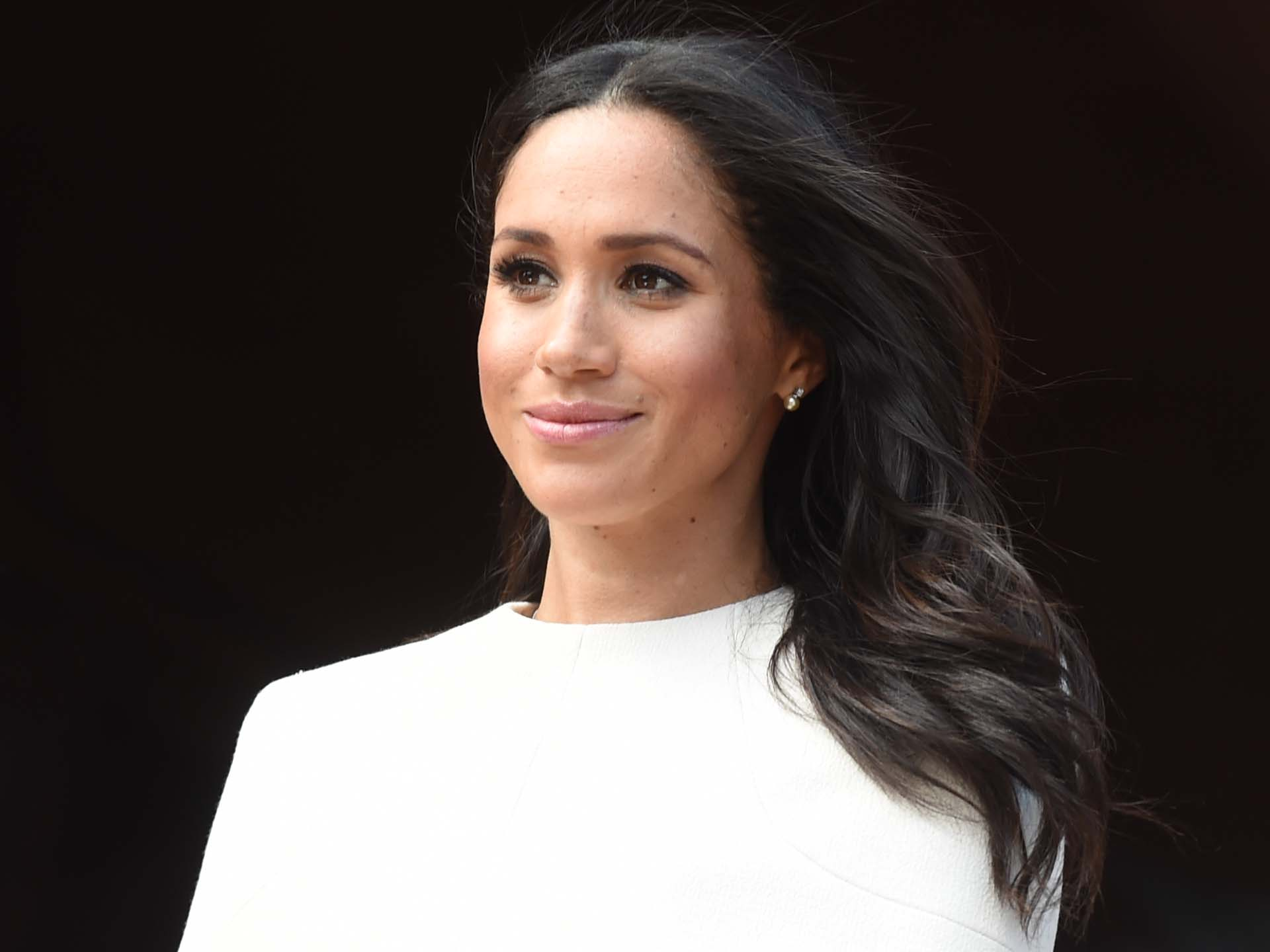 CHESTER, ENGLAND - JUNE 14:  Meghan, Duchess of Sussex and Queen Elizabeth II (not pictured) visit Chester Town Hall on June 14, 2018 in Chester, England. Meghan Markle married Prince Harry last month to become The Duchess of Sussex and this is her first engagement with the Queen. During the visit the pair will open a road bridge in Widnes and visit The Storyhouse and Town Hall in Chester.  (Photo by Eddie Mulholland/WPA Pool/Getty Images)