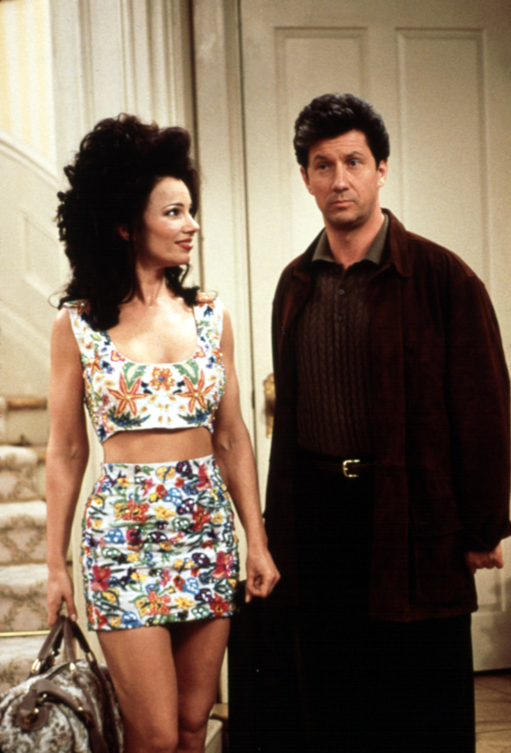 THE NANNY, Fran Drescher, Charles Shaughnessy, 1993-99, Image: 99173666, License: Rights-managed, Restrictions: For usage credit please use; Courtesy Everett Collection, Model Release: no, Credit line: Everett Collection  Col / Everett / Profimedia
