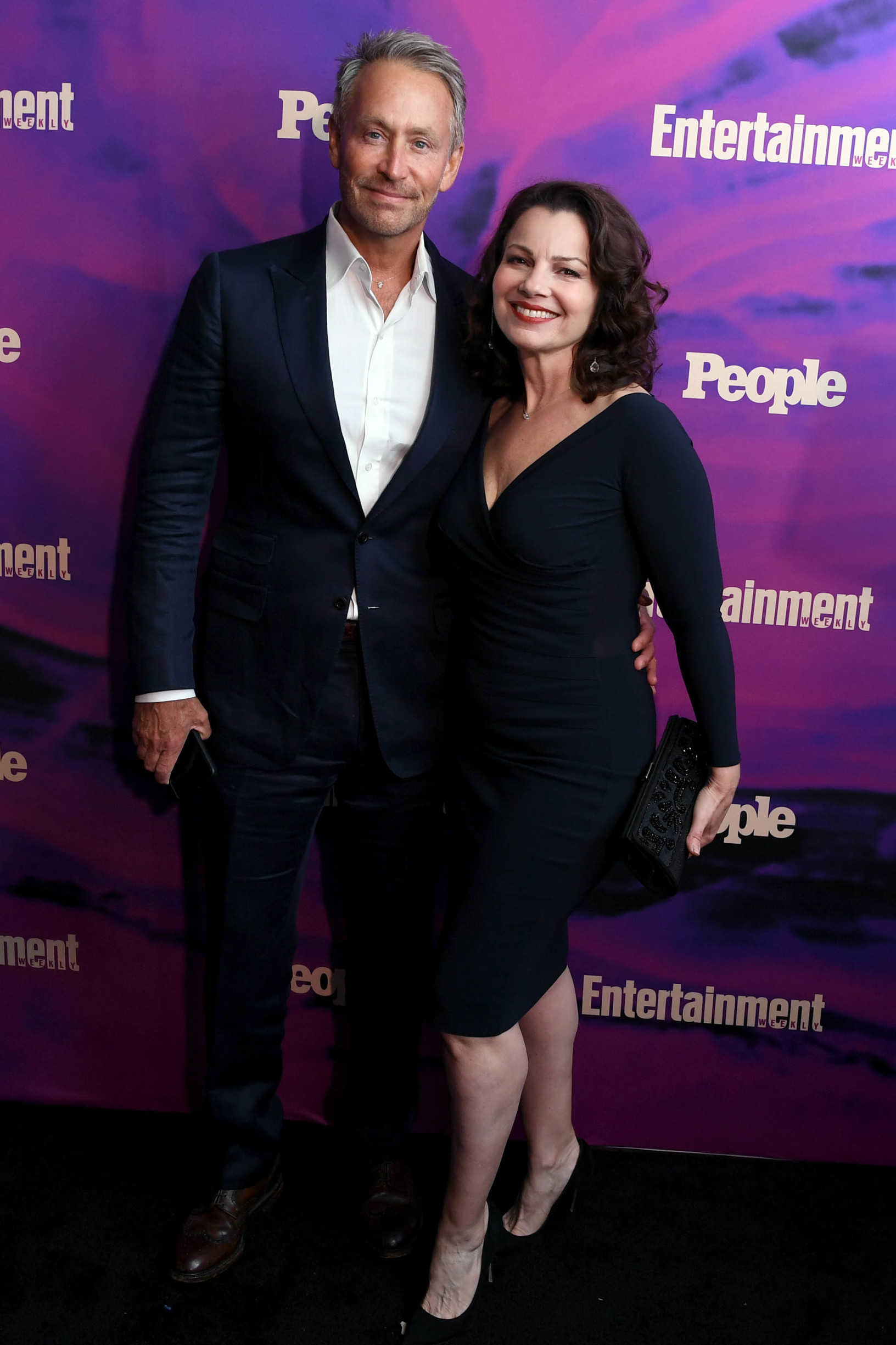 Peter Marc Jacobson and Fran Drescher Entertainment Weekly and People Magazine Upfront Party, Arrivals, Union Park, New York, USA - 13 May 2019, Image: 433014105, License: Rights-managed, Restrictions: , Model Release: no, Credit line: Stephen Lovekin / Shutterstock Editorial / Profimedia