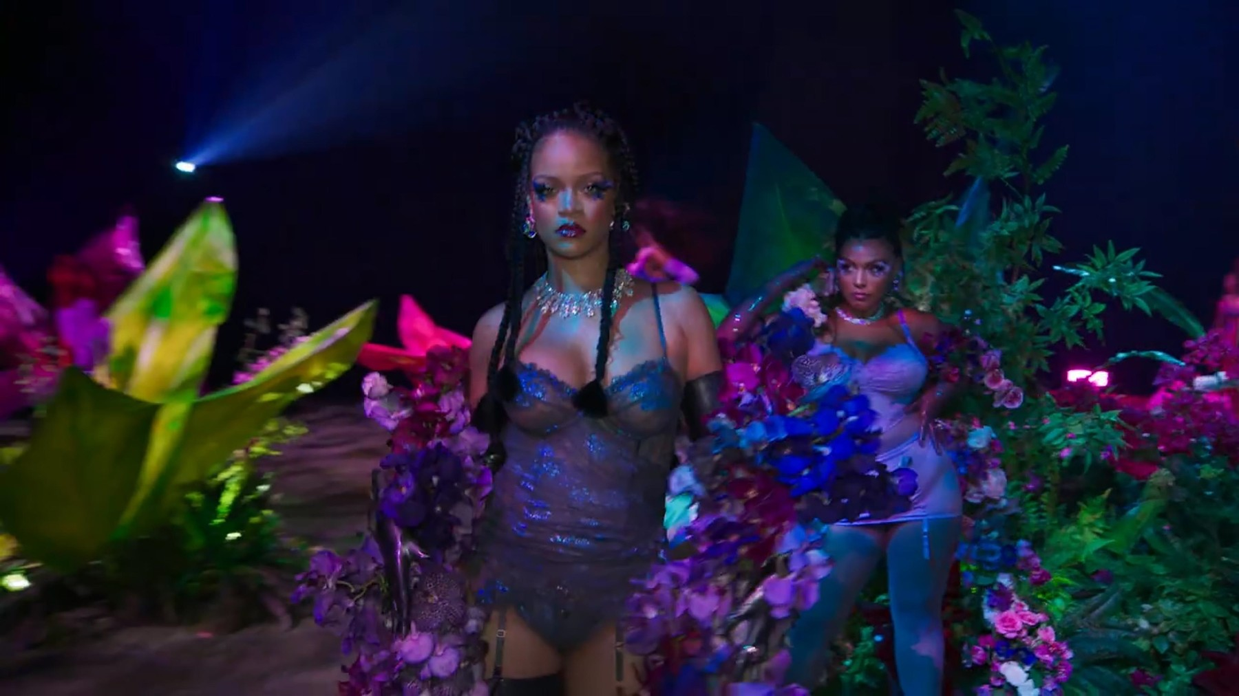 na,   - Rihanna's 'Savage X Fenty Show Vol. 2'.   Savage X Fenty Fall 2020 collection, which will be available to purchase Friday on Amazon Fashion and SavageX.com, include
