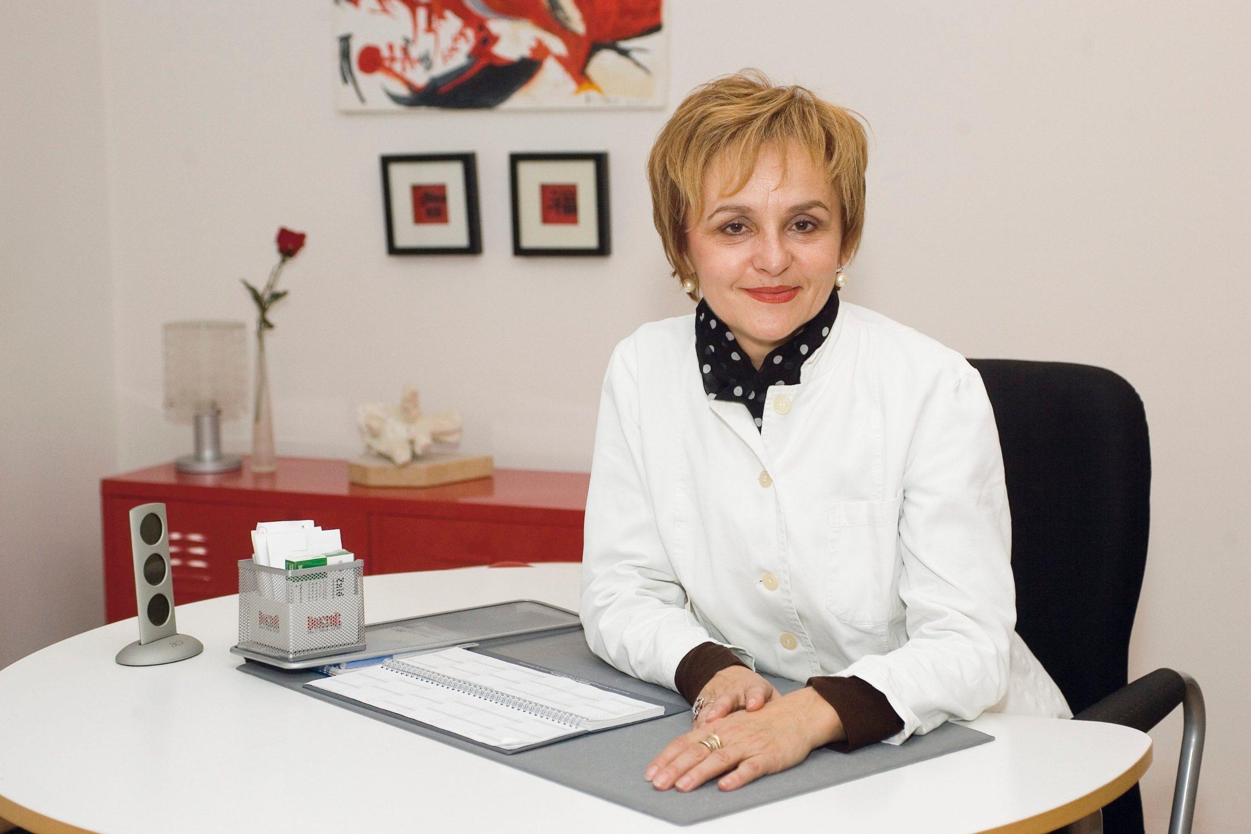 Zagreb 060907. Doktor Blazenka Nekic. Foto: doktor u kuci