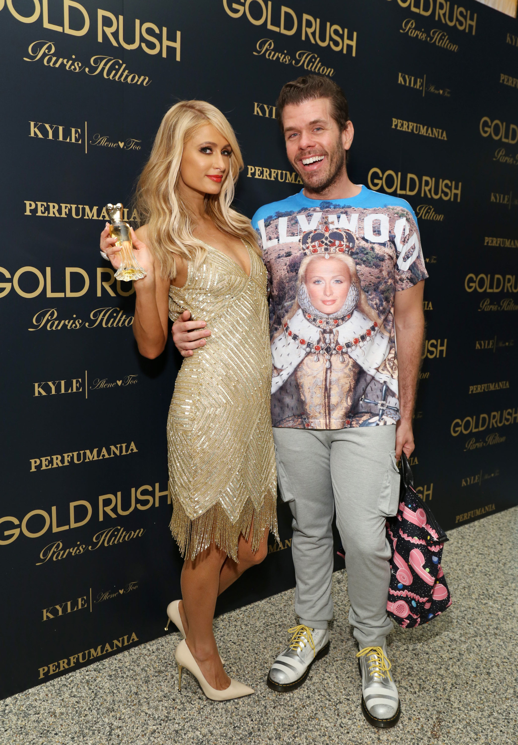 /Paris Hilton, Perez Hilton Paris Hilton 'Gold Rush' fragrance launch, New York, USA - 29 Jun 2016 Paris Hilton Celebrates the Launch of Her 20th Fragrance GOLD RUSH at her aunt's store Kyle by Alene Too in Beverly Hills,Image: 292829888, License: Rights-managed, Restrictions: , Model Release: no, Credit line: Sara Jaye Weiss / Shutterstock Editorial / Profimedia