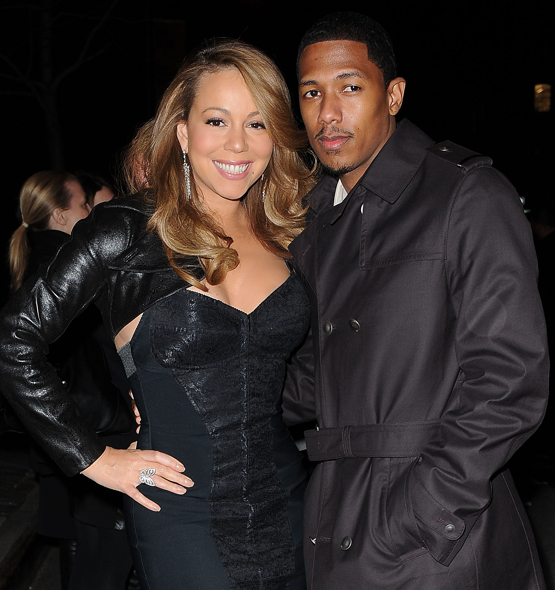 Mariah Carey and Nick Cannon VEVO launch at Skylight Studio, New York, America - 08 Dec 2009,Image: 231957558, License: Rights-managed, Restrictions: , Model Release: no, Credit line: Humberto Carreno / Shutterstock Editorial / Profimedia