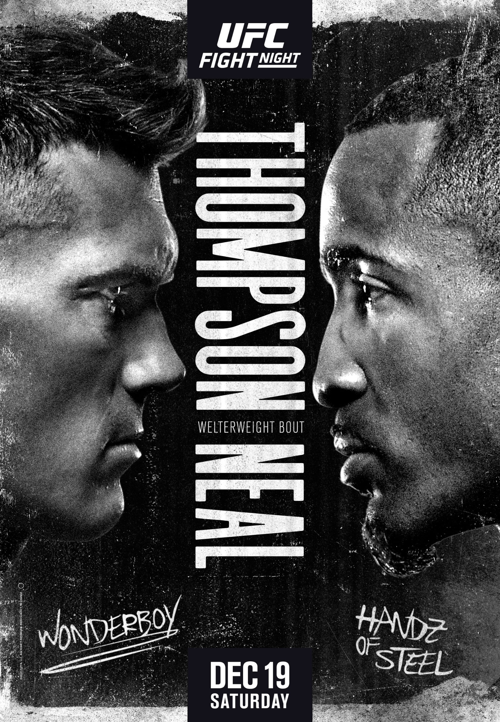 Thompson vs. Neal poster