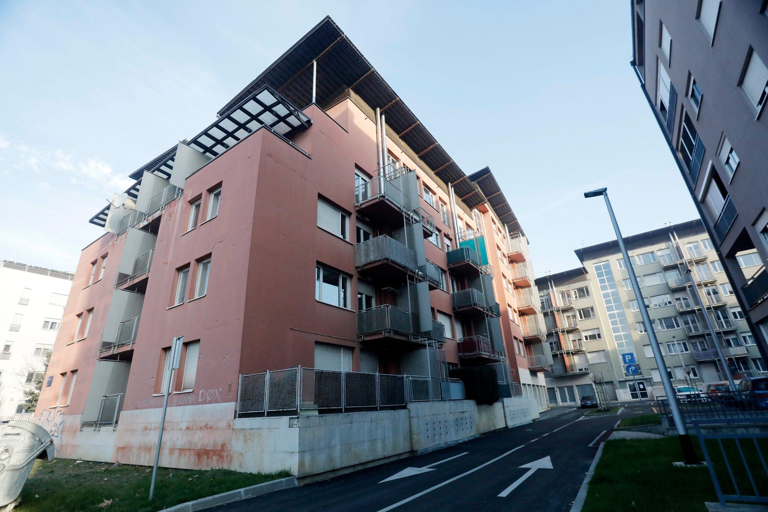 Ilustracija: Stambena zgrada u zagrebačkom naselju