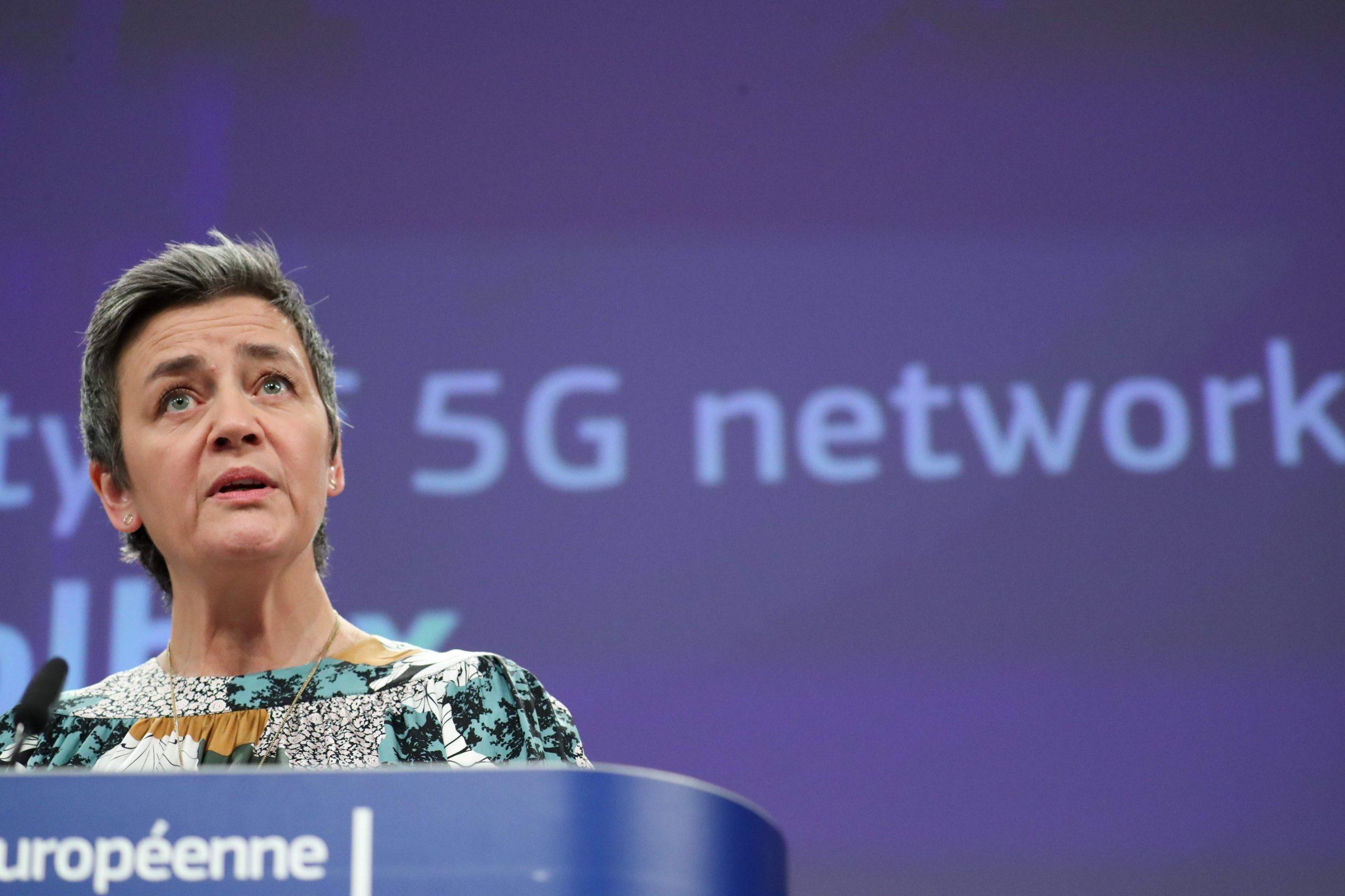 Izvršna potpredsjednica Europske komisije Margrethe Vestager