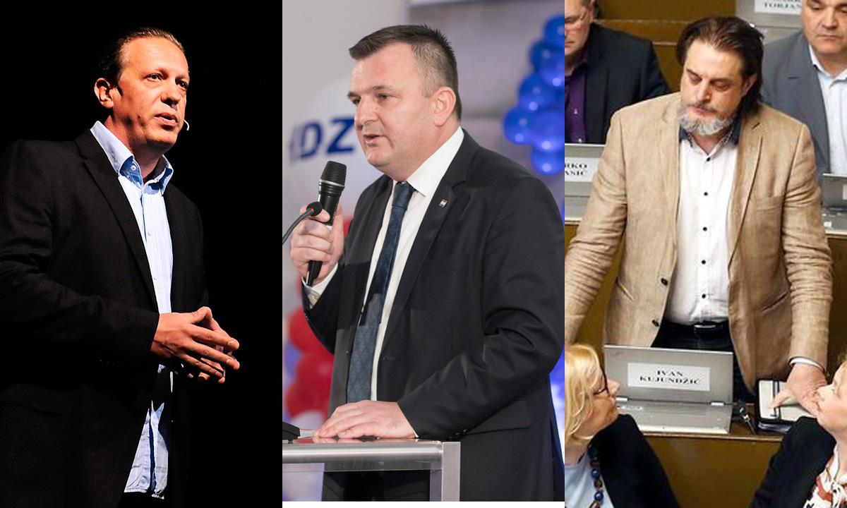 Hrvoje Tomasović, Petar Škorić, Ivan Kujundžić